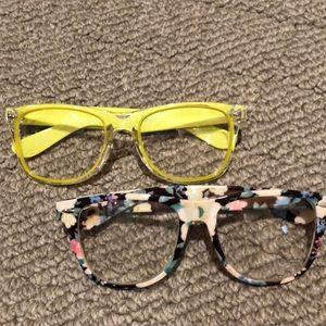 Non-prescription eyeglasses